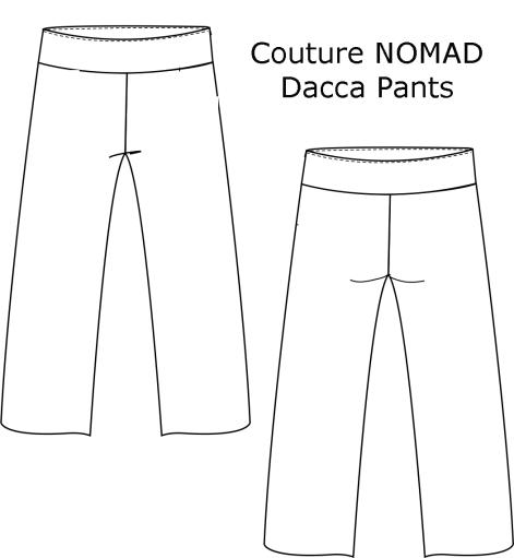 Dacca Pants DAP B&W