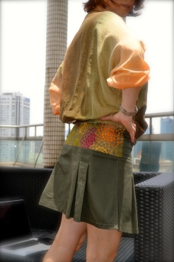 Istambul top & Sanaa skirt