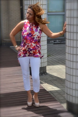 Sanya top & Nankin pants
