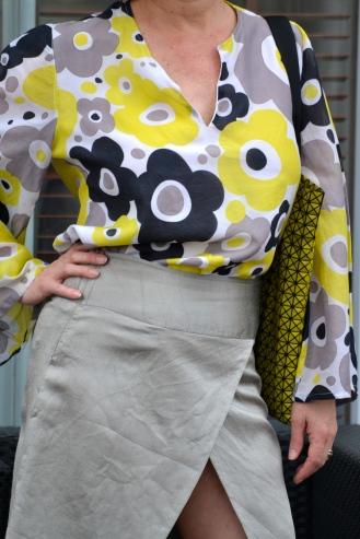Sapa Top & Bund skirt