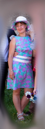 Manado dress & chapeau