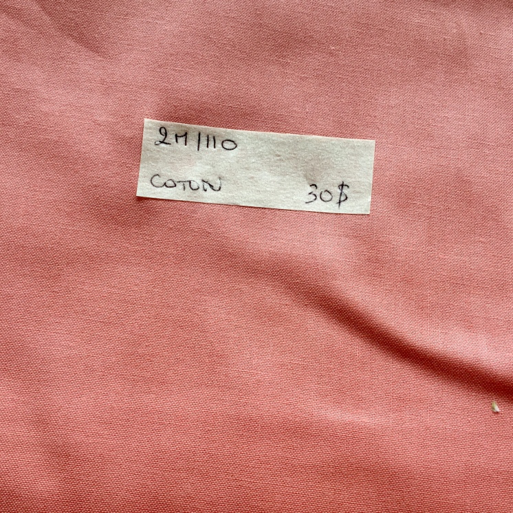 014:COTON 2M EN 110:30$